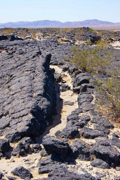 Volcanic Craters Photograph - Uplifted Lava Blocks by Mark Williamson