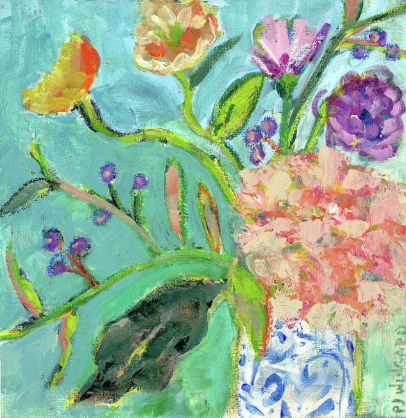 Oil Pastel Painting - Uplifting Surprise by Pamela J. Wingard