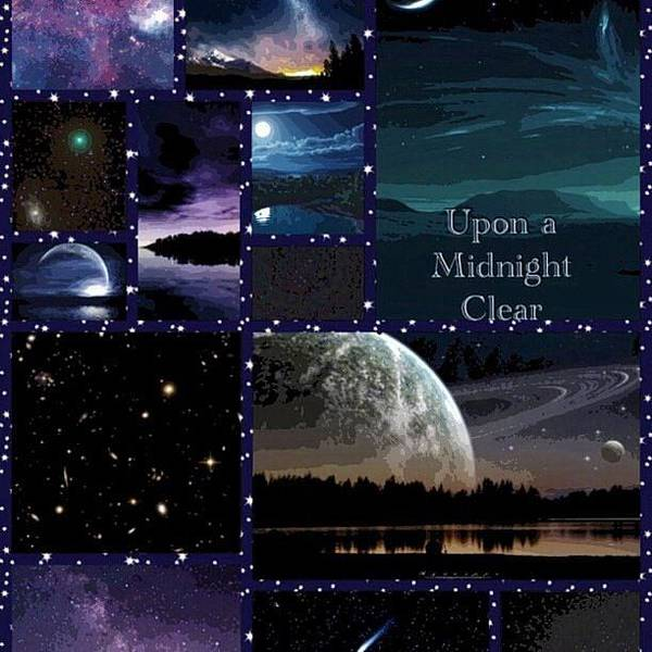 Digital Art - Upon A Midnight Clear by Karen Buford