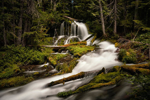 Photograph - Upper Big Spring Creek Falls by Brian Bonham