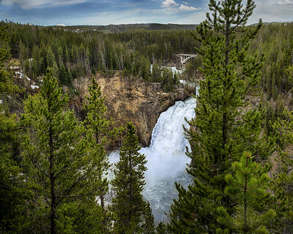 Photograph - Upper Falls by Jack R Perry
