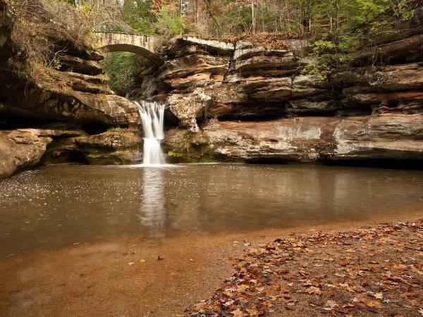 Shannon Falls Wall Art - Photograph - Upper Falls by Shannon Workman