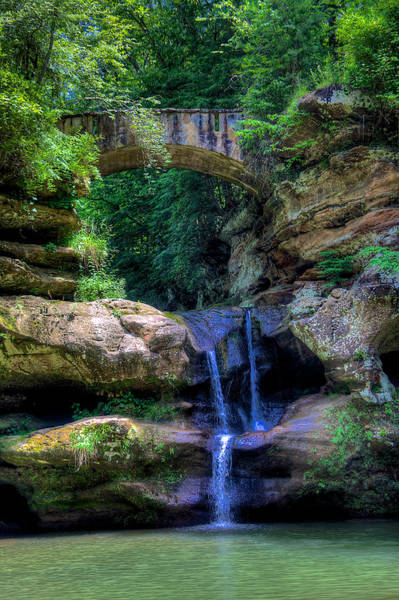 Wall Art - Photograph - Upper Falls by William Wetmore