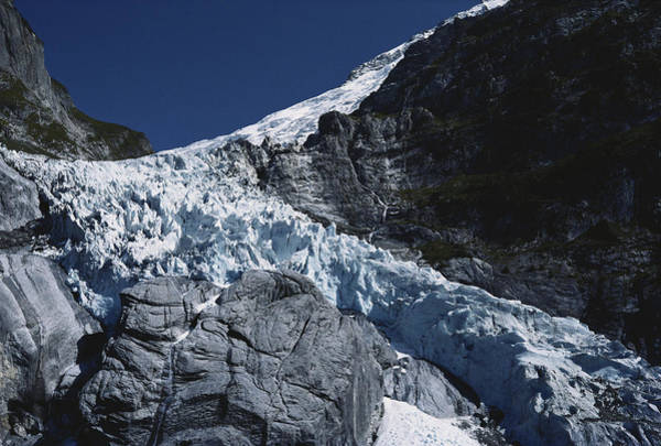Wall Art - Photograph - Upper Grindelwald Glacier by K. Van Den Berg