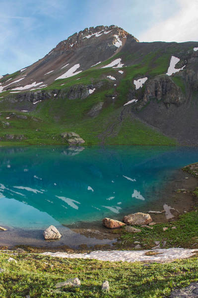 Wall Art - Photograph - Upper Ice Lake by Aaron Spong