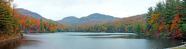 Photograph - Upper Lake Toxaway In The Fall 2 by Duane McCullough