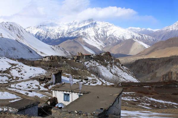 Photograph - Upper Mustang, The Himalaya, Nepal by Aidan Moran