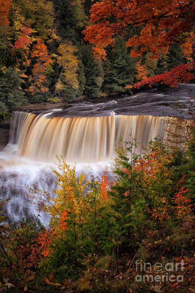 Wall Art - Photograph - Upper Tahquamenon Falls II by Todd Bielby