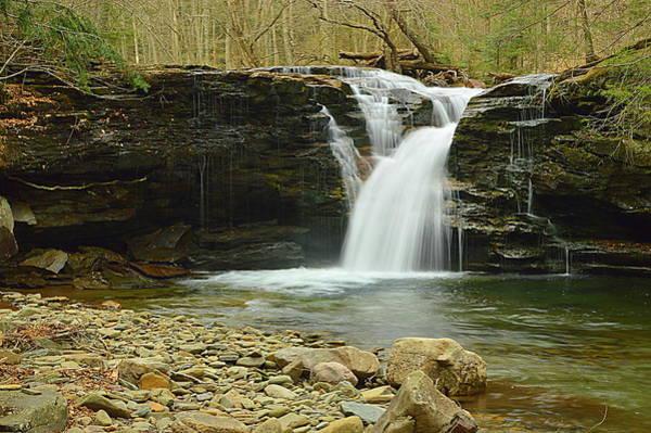 Sullivan County Photograph - Upper Twin Falls #1 by Joel E Blyler