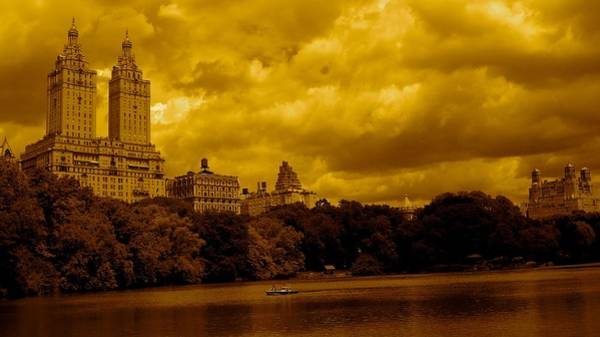 Upper West Side And Central Park Art Print