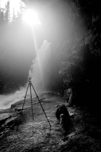 Photograph - Upper Wolf River Falls by Jeremiah John McBride