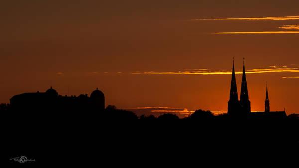 Photograph - Uppsala Skyline by Torbjorn Swenelius