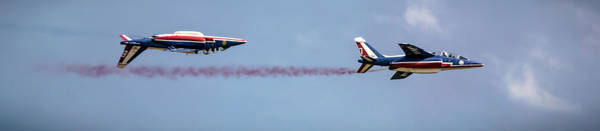 Airshow Photograph - Upside Down by Martin Newman