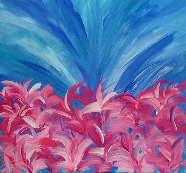 Painting - Upside To Everything Hidden by Cyryn Fyrcyd