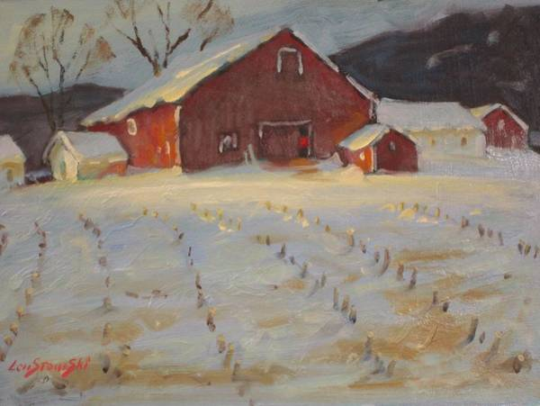Upstate New York Painting - Upstate by Len Stomski