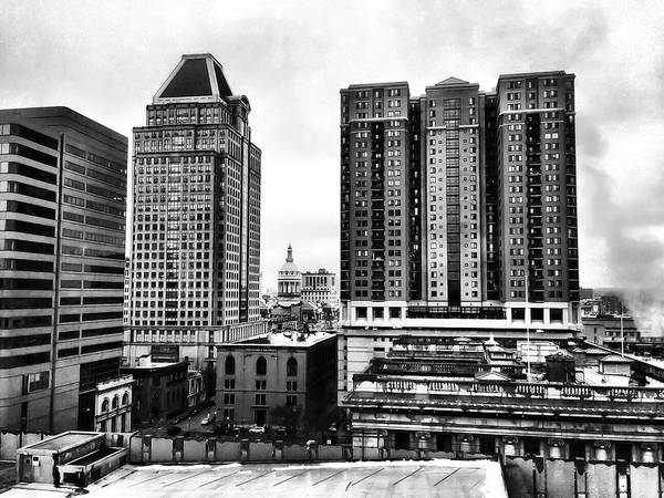 Photograph - Uptown Baltimore by Chris Montcalmo