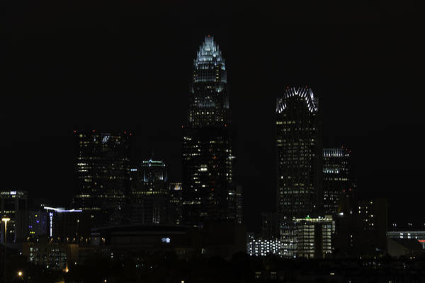 Photograph - Uptown Charlotte At Twilight 0002 by Donald Brown