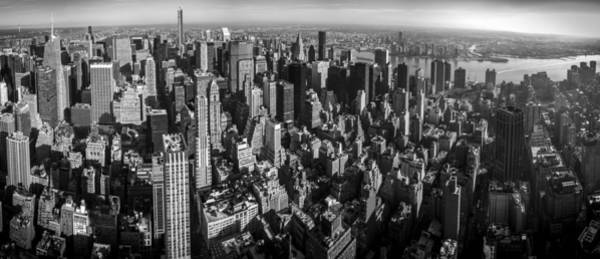 Photograph - Uptown Manhattan by David Morefield