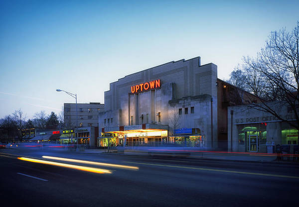 Washington Street Photograph - Uptown Theatre In Washington Dc by Mountain Dreams