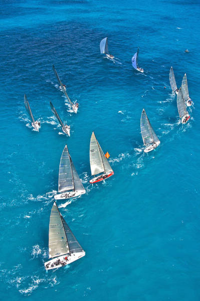 Photograph - Upwind Mark Miami by Steven Lapkin