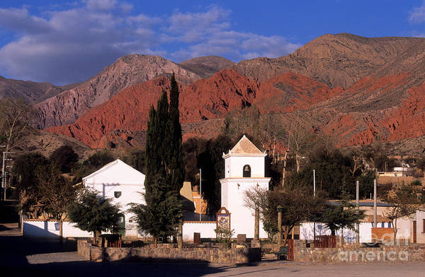 Photograph - Uquia Village Jujuy Argentina by James Brunker