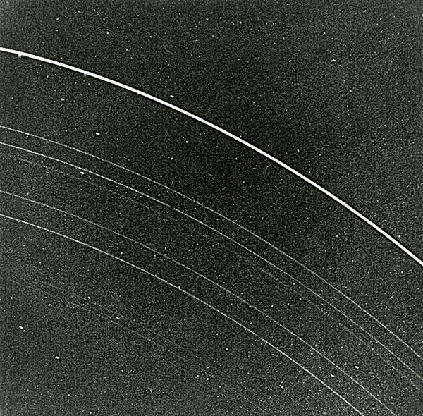 Voyager Photograph - Uranian Ring System by Nasa/science Photo Library
