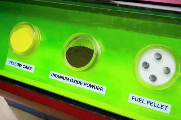 Isotope Photograph - Uranium Fuel Preparation by Mark Williamson