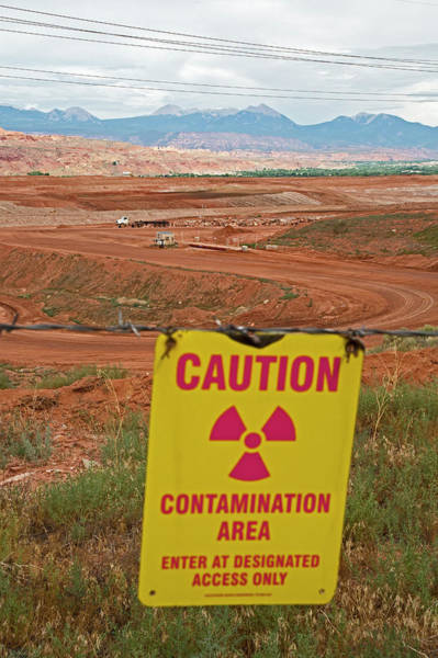 Contamination Photograph - Uranium Mill Clean Up Project by Jim West