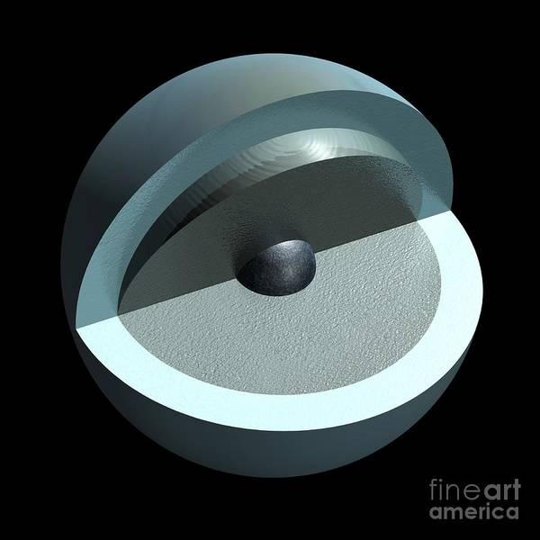 Wall Art - Photograph - Uranus' Interior, Artwork by Carlos Clarivan