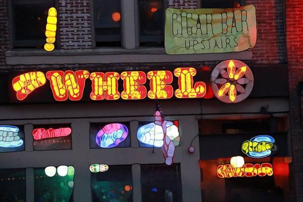 Wall Art - Photograph - Urban Abstract Nashville Lights by Dan Sproul