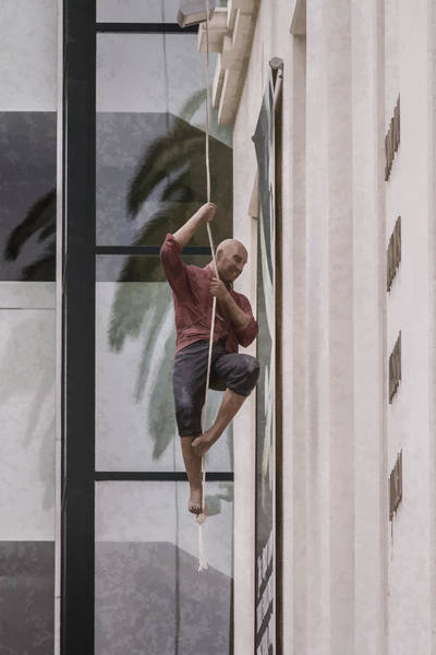 Digital Art - Urban Climber by Photographic Art by Russel Ray Photos