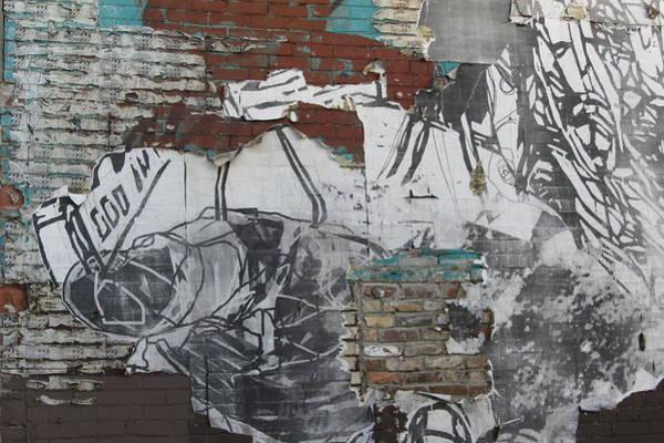 Photograph - Urban Decay Mural Wall 1 by Anita Burgermeister