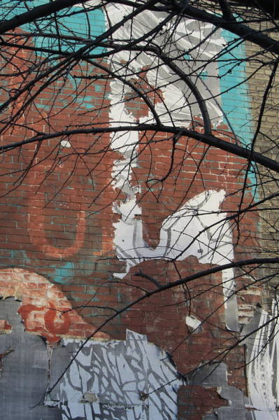 Photograph - Urban Decay Mural Wall 5 by Anita Burgermeister
