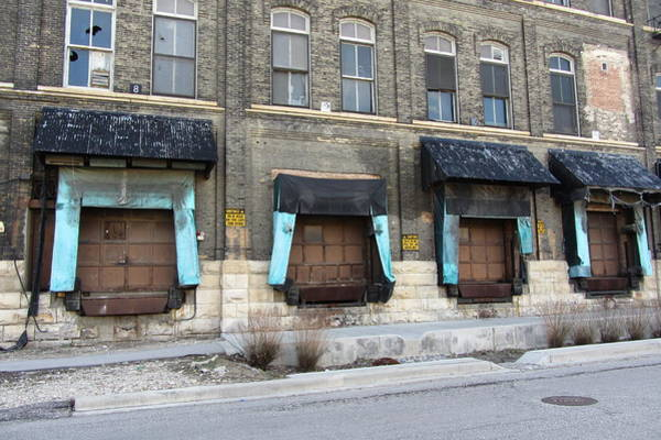 Photograph - Urban Decay Pabst Loading Docks by Anita Burgermeister