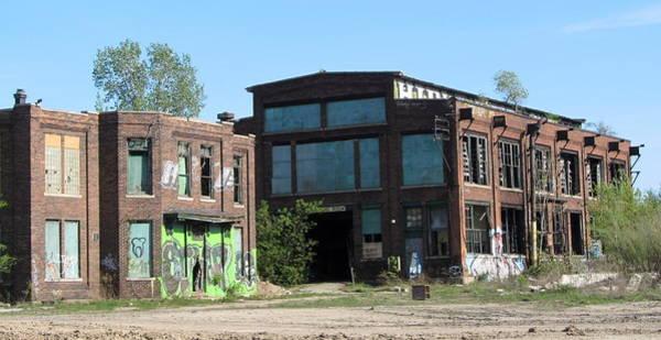 Photograph - Urban Decay Solvay 1 by Anita Burgermeister