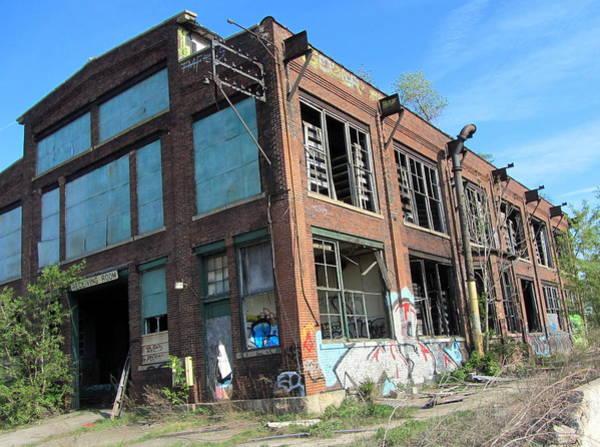 Photograph - Urban Decay Solvay 10 by Anita Burgermeister