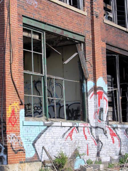Photograph - Urban Decay Solvay 11 by Anita Burgermeister