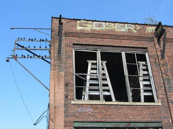 Photograph - Urban Decay Solvay 12 by Anita Burgermeister