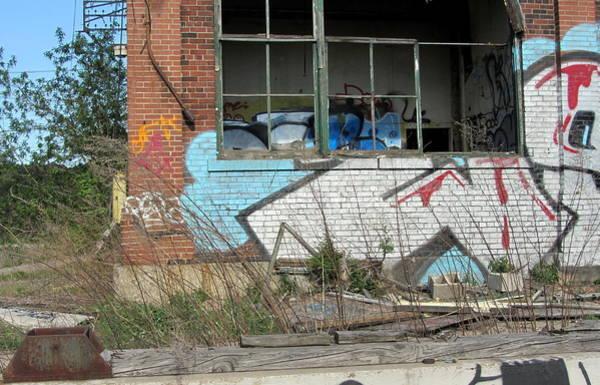 Photograph - Urban Decay Solvay 13 by Anita Burgermeister