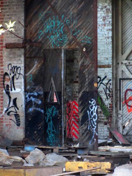 Photograph - Urban Decay Solvay 16 by Anita Burgermeister