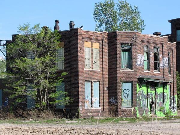 Photograph - Urban Decay Solvay 2 by Anita Burgermeister