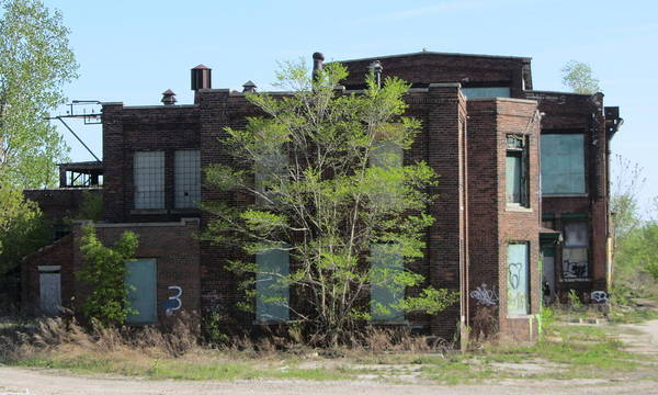 Photograph - Urban Decay Solvay 3 by Anita Burgermeister