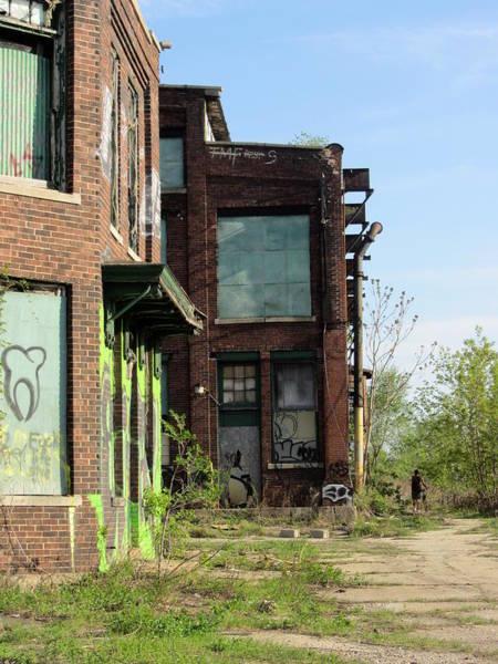 Photograph - Urban Decay Solvay 4 by Anita Burgermeister