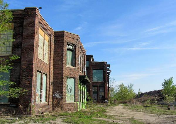 Photograph - Urban Decay Solvay 5 by Anita Burgermeister