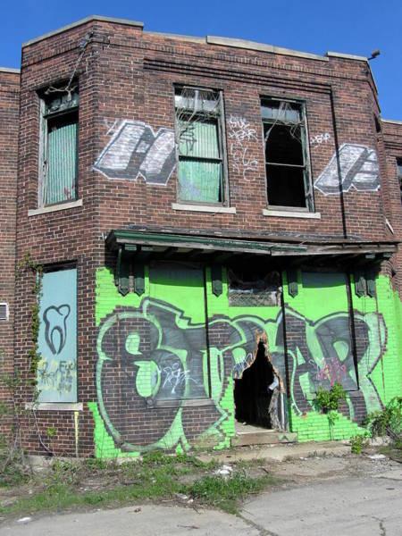 Photograph - Urban Decay Solvay 6 by Anita Burgermeister
