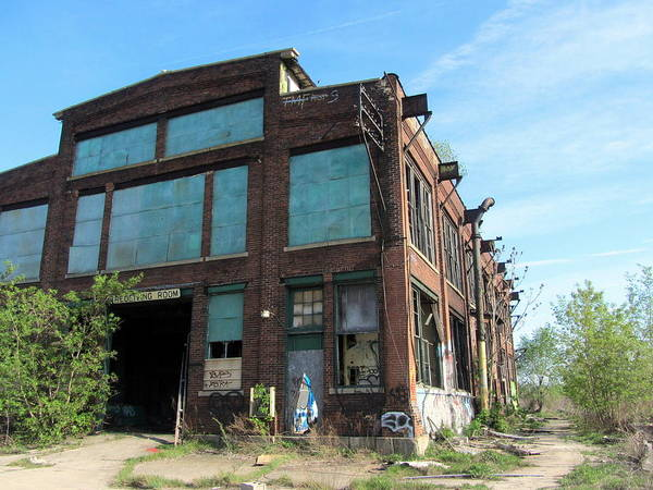 Photograph - Urban Decay Solvay 8 by Anita Burgermeister