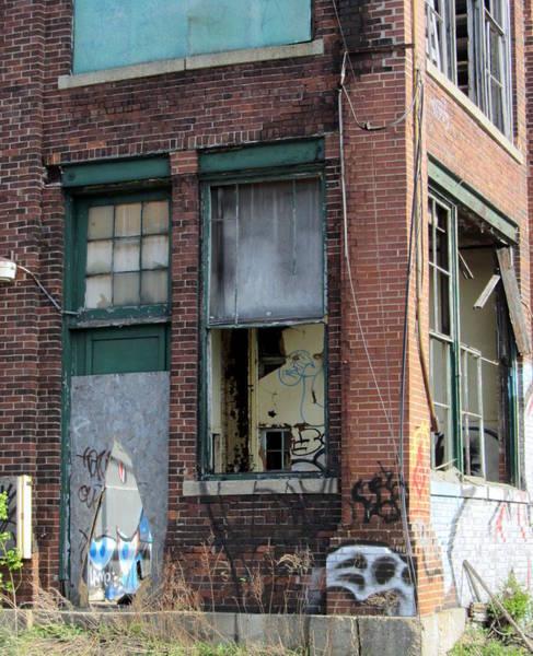 Photograph - Urban Decay Solvay 9 by Anita Burgermeister