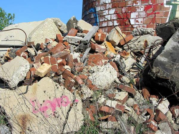 Photograph - Urban Decay Solvay Brick Ruins 5 by Anita Burgermeister
