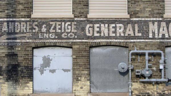 Photograph - Urban Decay Wall General by Anita Burgermeister