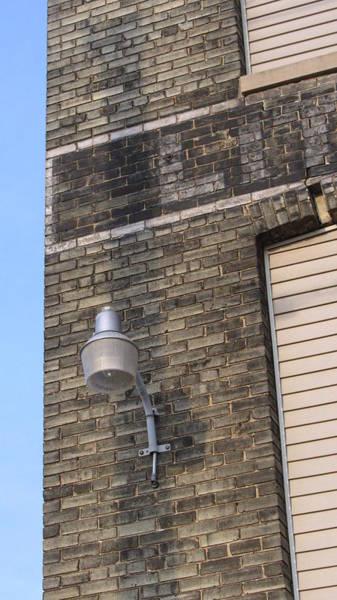 Photograph - Urban Decay Wall Light 2 by Anita Burgermeister